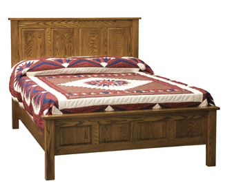 4 Panel Bed Amish Furniture Factory Amish Furniture