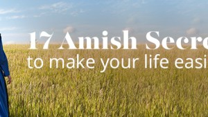 17 Amish Secrets To Make Your Life Easier Amish Outlet Store