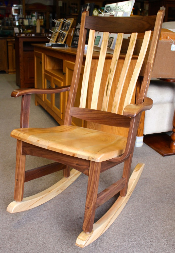 Amish Wooden Rocking Chairs