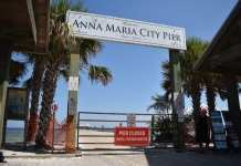 Anna Maria City Pier closed