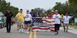 Anna Maria Veterans Day parade