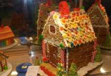 Andrea Spring gingerbread house