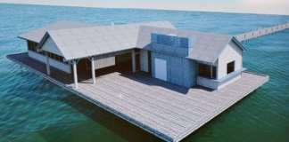 Kebony selected as siding for Anna Maria's pier buildings