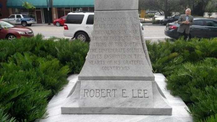 Confederate monument debated