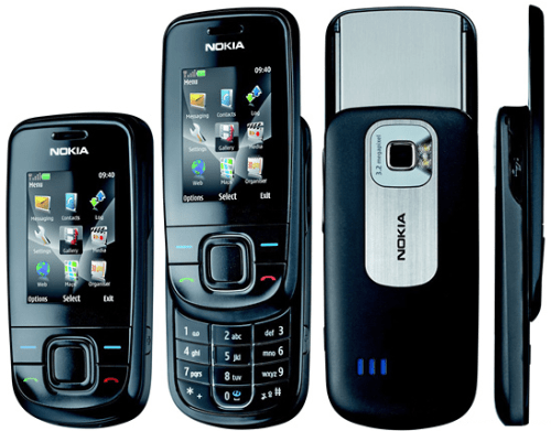 Nokia 3600 Slide Mobile Phone