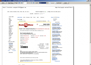 Gmail Print Email