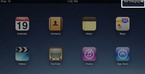 Apple iPad Not Charging