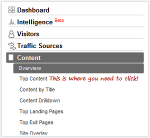 Find Detailed Traffic Stats for Specific Webpage in Google Analytics