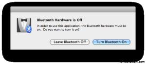 Bluetooth Hardware On Off