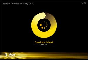 Prepare Uninstall Norton Symantec