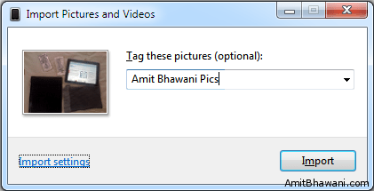 Tag Pictures Videos