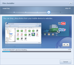 Samsung Kies Installer Software