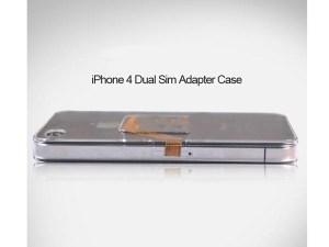 Iphone4 Dual SIM Adapter Case