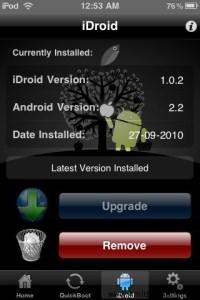 iDroid iPhone Dual Boot