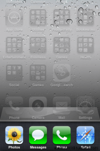 Apple iPhone Background Apps