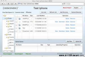 Use Apple iPhone as Flash Drive to Backup Computer Files