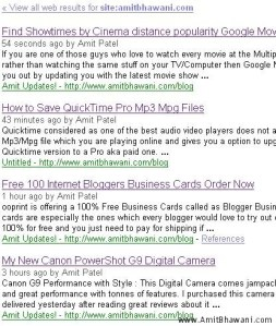 Ping Google Blog Search Quick Traffic Quick Index