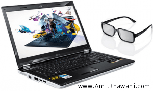 LG Xnote A510 first 3D Laptop