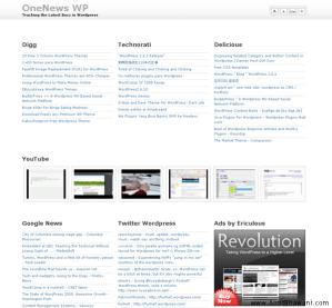 Create AllTop Popurls Clone with Free Wordpress Theme
