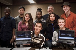 Students Use Sony Vaio Laptop to Launch a Rocket