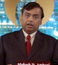 Worlds Richest Man is Mukesh Ambani from Reliance