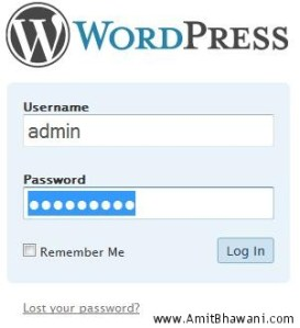 Forgot Wordpress Logins? How to Reset/Recover your passwords