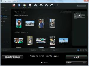 Bloggie Software Installer