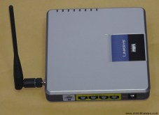 Linksys Wireless-G Wag200g Router