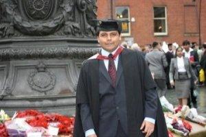Harshavardhan Pidathala Sheffield Hallam University Guaduation