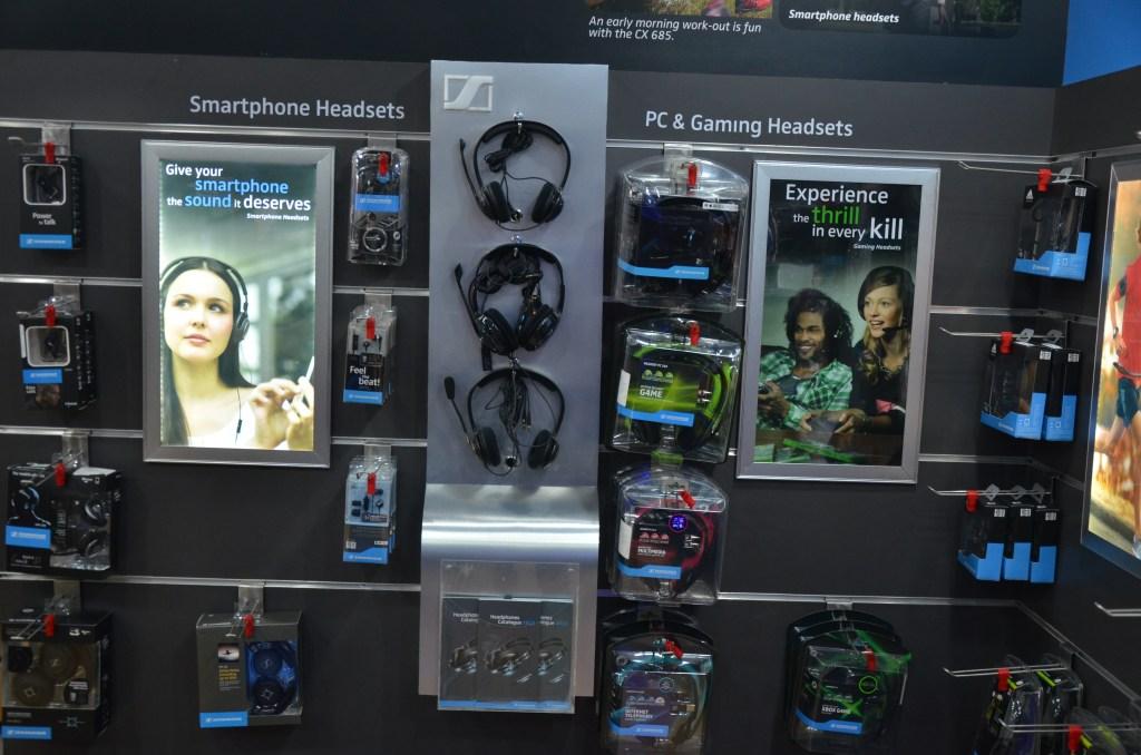 Sennheiser Store Smartphone Gaming Headsets Display