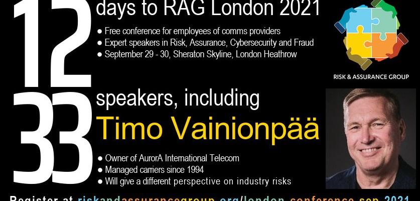 RAG London 2021