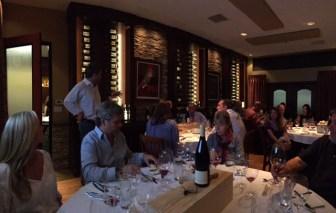 Meritage wine dinner