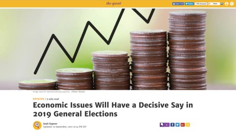 Economic Issues Will Have a Decisive Say in 2019 General Elections
