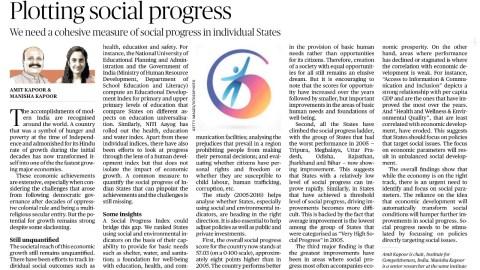 Plotting Social Progress