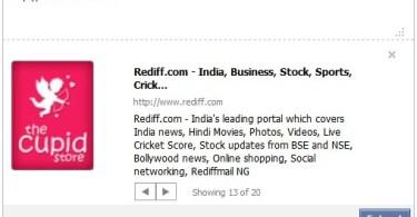 facebook like status update link extractor