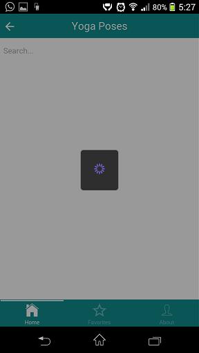 Ionic loading icon