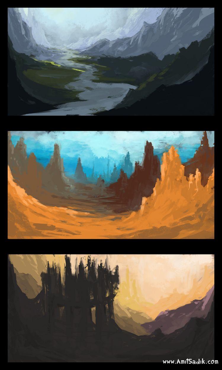 speed painting tutorial
