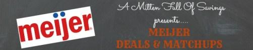 Meijer matchups and deals