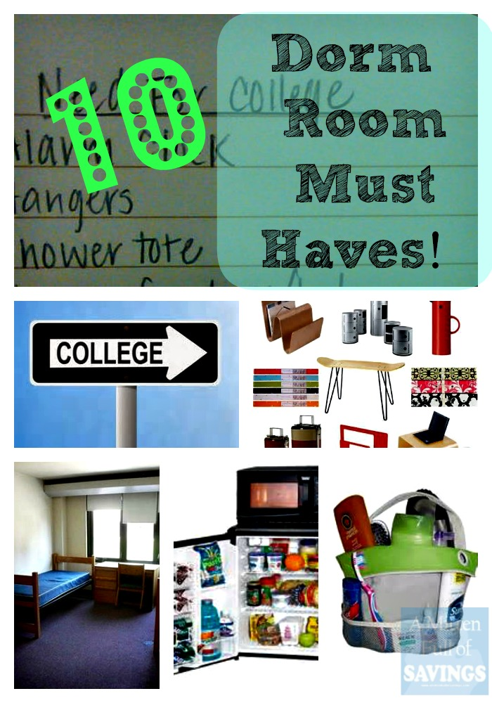 list of 10 dorm room essentials checklist. Black Bedroom Furniture Sets. Home Design Ideas
