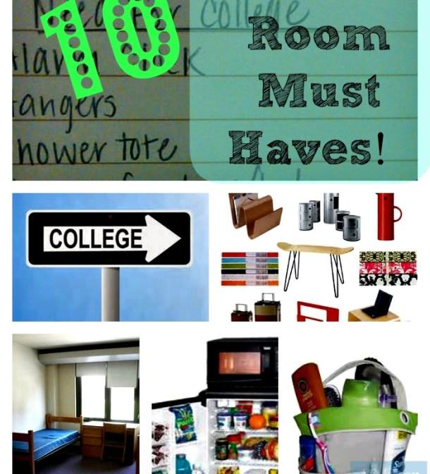 List Of 10 Dorm Room Essentials Checklist
