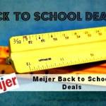 Meijer Back To School Deals valid till 9/13