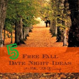 5 Free Fall Date Nights