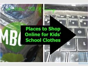 Places to Shop Online for Kids' School Clothes