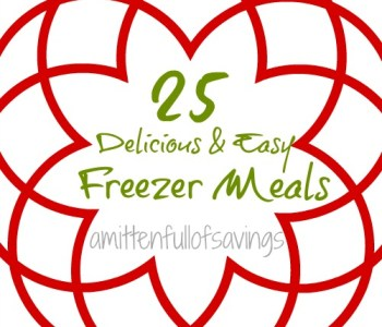 25 freezer friendly recipes