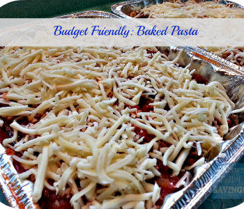 freezer friendly recipes baked pasta