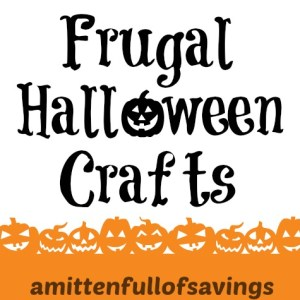 frugal halloween crafts