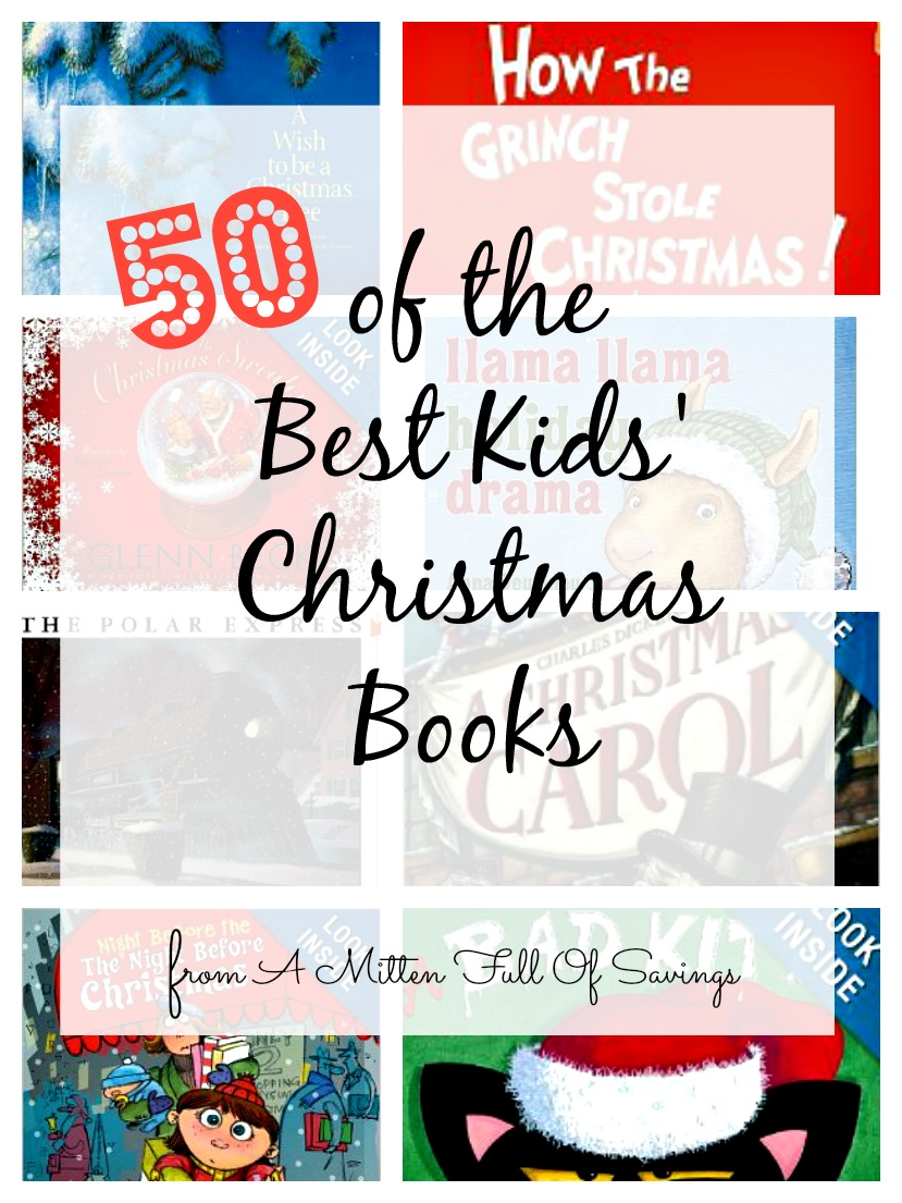 feature 50 of the best kids christmas books - Best Christmas Books For Kids