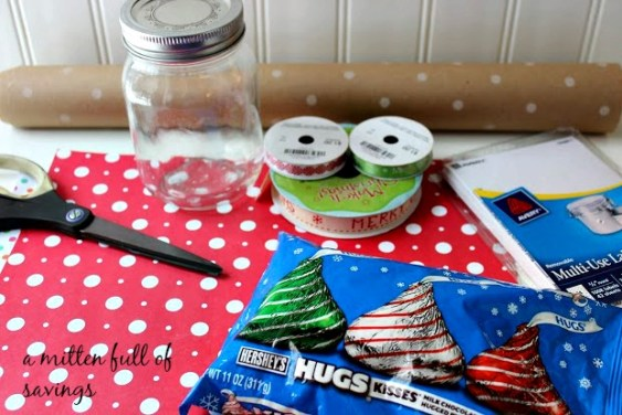 gift in a jar items