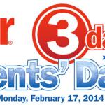 Meijer 3 Day Sale: President Sale 2/15-2/17