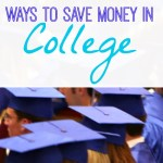 6 Ways to Save Money In College